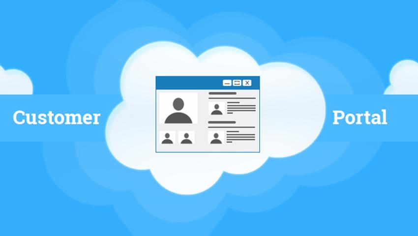 What is Salesforce Customer Portal?