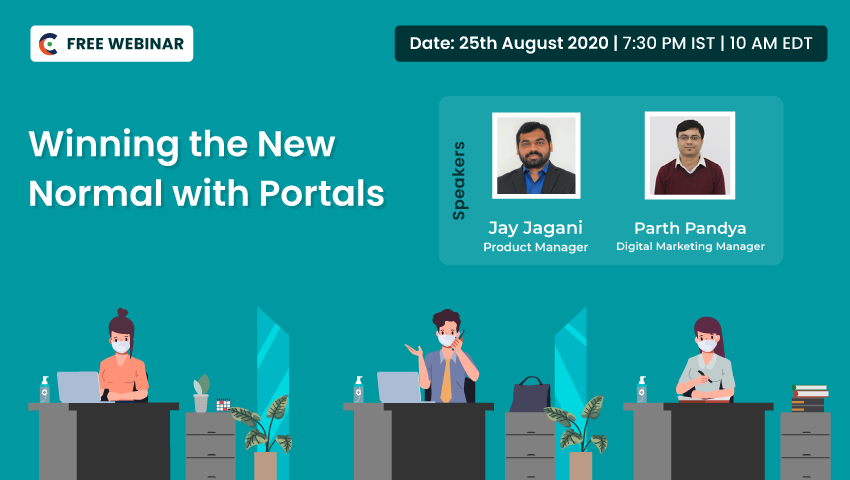 Announcement! Free Webinar on Winning the New Normal with Portals