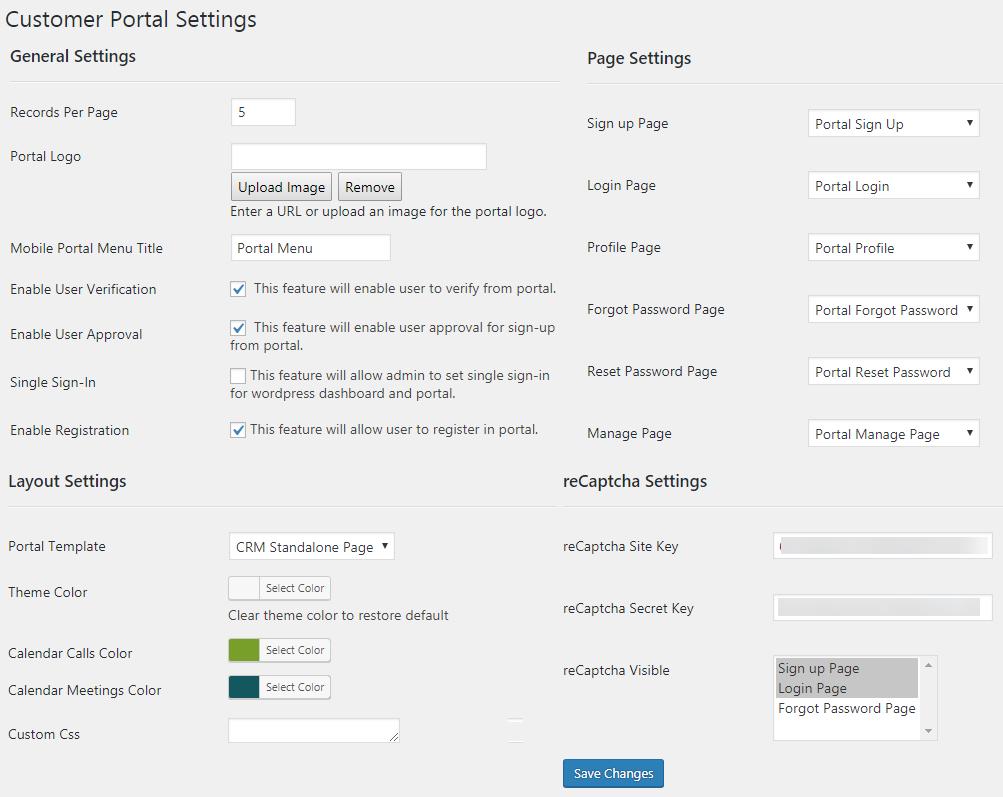 WordPress Back End Configurations