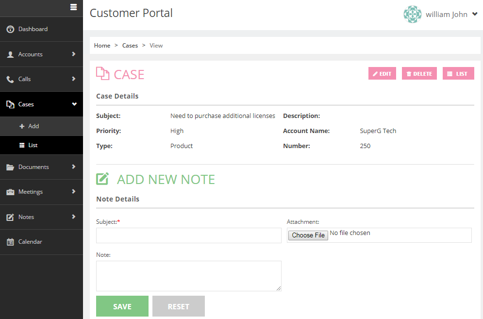 Manage CRM Records from Portal